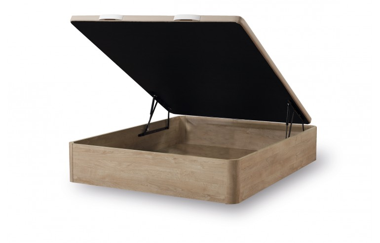 WOODEN STORAGE BED CAMBRIAN 90X190